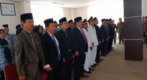 52 Pejabat Struktural dan Fungsional Kabupaten Kaur Dilantik