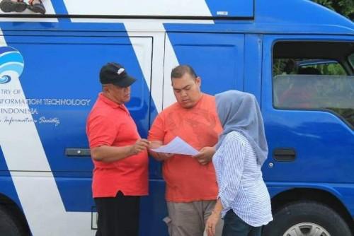 Dukung MTQ ke-34 Dinas Kominfotik Provinsi Bengkulu turunkan Mobil M-CAP