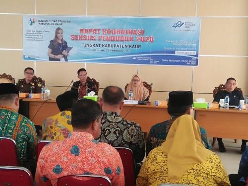 BPS Kaur gelar Rapat Koordinasi Sensus Penduduk 2020, Tingkat Kabupaten Kaur